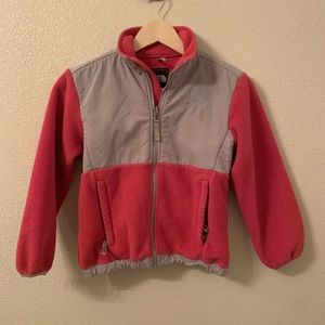 Girls North Face Pink Jacket